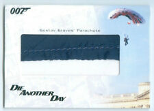 """""""GUSTAV GRAVES 2 COLOR PARACHUTE PROP/RELIC CARD #RC22"""" JAMES BOND IN MOTION"""