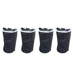 4PCS FOOT LEG POLE SANDBAG GAZEBO LARGE WEIGHTS MARQUEE MARKET STALL SAND BAGS