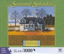 Charles Wysocki 2008 Seasonal Splendor Jigsaw Puzzle Sweetheart Chessmate