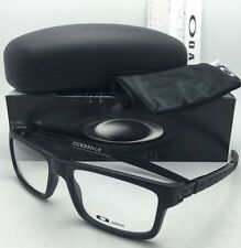 New OAKLEY Eyeglasses CURRENCY OX8026-0154 54-17 Satin Black Frames /Demo Lenses