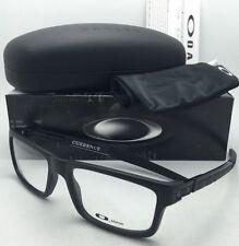 New OAKLEY Eyeglasses CURRENCY OX8026-0154 54-17 Satin Black Frame w/ Clear Lens