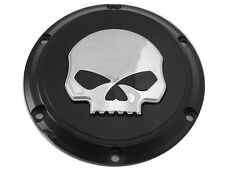 Black Skull Derby Cover for 2004-2015 Harley Davidson Sportster XL Models