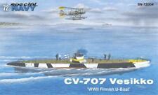 Special Navy (MPM) 72004 1:72nd scale CV 707 Vesikko 'WWII Finnish U-Boat'