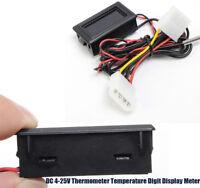 Thermometer Temperature Digit Display Meter For Car Water Celsius Measurement