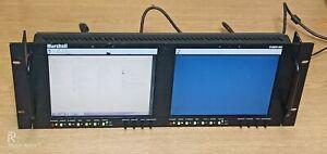 "MARSHALL V-R82P-SDI DUAL LCD MONITOR 8.4"" WIDE SCREEN"