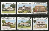 St Kitts SC # 239-244 Tourism Type 1988. MNH