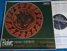 BRAHMS Symphony 3 ANSERMET Decca SXL 6061 WBg ED1