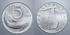5 LIRE 1954 DELFINO NC FIRMA DISTANTE REPUBBLICA ITALIANA