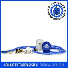 Sinister Diesel Coolant Filter System for Ford Powerstroke 2008-2010 6.4L