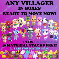 Animal Crossing Villager Quick Move-In!! Raymond Judy Sherb Audie Roald Marshal