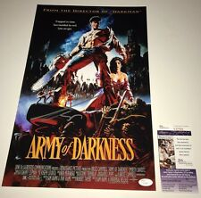 SAM RAIMI & BRUCE CAMPBELL Signed ARMY OF DARKNESS 11x17 Photo Autograph JSA COA