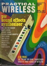 Practical WIRELESS Magazine March 1971 Trojan Top Band Tranceiver Circuit Dwng