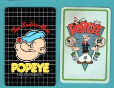 2 Single Swap Playing Cards Popeye The Sailor Man Comic Book Character
