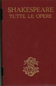 Tutte le opere - William Shakespeare (Sansoni Editore) [1964]