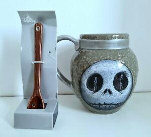 Disney Nightmare Before Christmas Jack Skellington Mug and Spoon Set