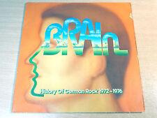 Historia del rock alemán 1972 - 1976/1976 cerebro Doble Lp/Nuevo/Novalis/Grobschnitt