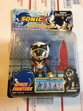Sonic X Space Fighters Shadow Action Figure RARE Toy Island Toys R Us New In Box