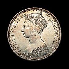 """1869 REGINA VITTORIA FIORINO (2 SCELLINI) """"gotica"""" tipo, B3"""