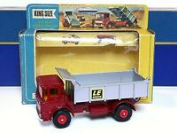 Matchbox Lesney K-4c Leyland Tipper Truck In Type 'F' Window Box