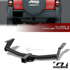 "Class 3 Trailer Hitch Receiver Rear Bumper Towing 2"" For 2002-2007 Jeep Liberty"