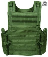 VOODOO TACTICAL ARMOR PLATE CARRIER VEST WITH MOLLE WEBBING 20-8399 / OD GREEN