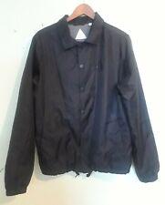 Altamont Apparel Windbreaker Cotton Lined Black Jacket Men's Medium