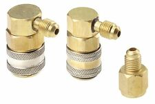 R134a Quick Coupler Set R12 Conversion Kit With Quick Couplers & Tank Adapter
