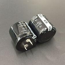 1pcs 10000uF 25V Panasonic HA 25V10000uF  Snap-in PSU Capacitor 30x30mm