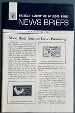 Vintage March-April 1969 American Association of Blood Banks News Briefs Medical