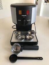 Krups 964 Espresso Novo Cappuccino Machine + Accessories