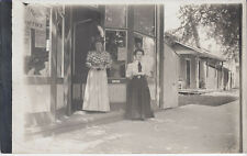 1910s RP POSTCARD BUTLER? OH/OHIO PRINTING OFFICE STORE FRONT