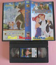 film VHS cartone ANASTASIA ED. TV SORRISI E CANZONI 1998  (F68***)  no dvd