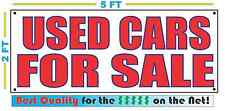 USED CARS FOR SALE Banner Sign NEW