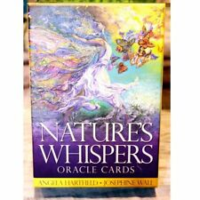 Nature's Whispers Oracle Cards Tarot Deck + Book Healing Nature Josephine Wall