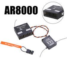 AR8000 2.4GHz DSMX 8CH Receiver & Satellite Fits For Spektrum DX7,DX8,DSMX...
