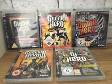 Guitar Hero 6: Warriors of Rock (Sony PlayStation 3, 2010) (5 GAME )