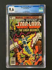 Marvel Spotlight #v2 #6 CGC 9.6 (1980) - Newsstand - Origin & 1st app Star-Lord