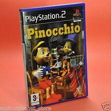 PINOCCHIO PS2 SONY PLAYSTATION  italiano usato