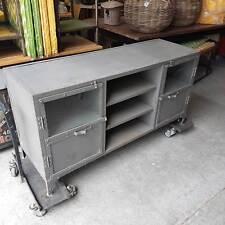 Industrial Style Display Sideboard