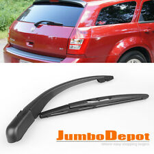 Black Rear Window Wiper Arm + Blade Fit For Dodge Magnum 2005 2006 2007 2008