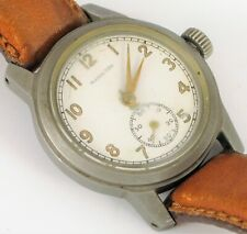 RARE ANTIQUE MILITARY ISSUE ORD CORPS HAMILTON WRISTWATCH RUNNING WELL CLEAN !