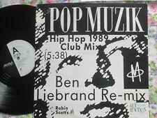 M  – Pop Muzik (Ben Liebrand Remix) Freestyle 12 FRS R1 UK Vinyl 12inch Single