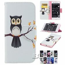 For For Sony X1 ZX1/Compact Magnetic pu wallet phone case protective skin flip