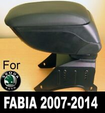 Specific Skoda Fabia mk2 2007-2014 Armrest Center Console Storage Compartment