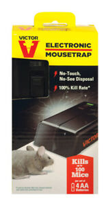 Victor Electronic Mouse Trap 50 Mice  *Easy Victor Electronic Mouse Trap 50 Mice