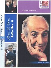 Louis de Funes. 6 movies Collection 6. Optional English Subtitles.  Jean Gabin.