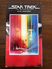 Star Trek: The Motion Picture VHS - Vintage Sci-Fi Movie (1991)