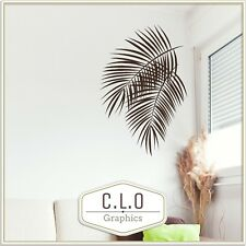 Palm Tree Leaves Wall Sticker Vinyl Transfer Home Decor Art Graphic Decal Large