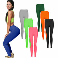 Women YOGA Workout Leggings Gym Sports Pants High Waist Fitness Stretch Trousers