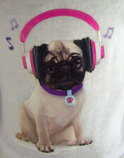 """Pug Dog!!! Doggy T-Shirt for 18"""" American Girl Doll Clothes"""